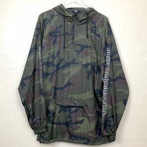 cfe4bc29ad94c Obey Jackets & Coats - Obey Rough Draft Camo Anorak Windbreaker Jacket